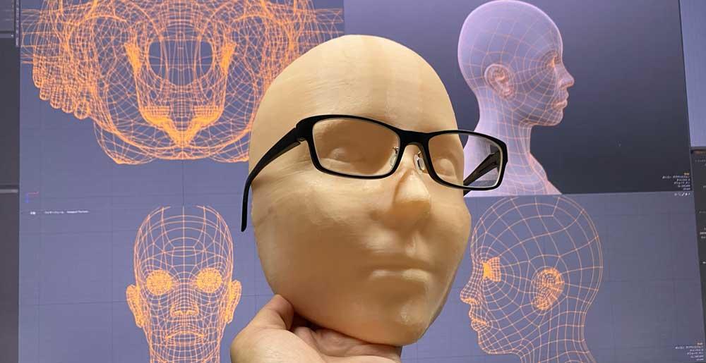 3Dプリンターでマネキンヘッドを作ってみた【肌色フィラメントはリアル】