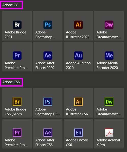 永続 Adobe 版 2020 cc