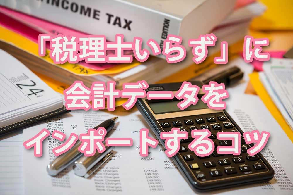 【エクセルで簡単】「弥生会計」を「税理士いらず」にインポートする方法【らくらく法人税申告】